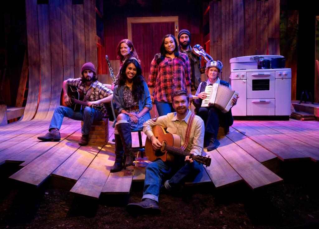 (Clockwise from L) Joey Ruggiero, Sarah Saviano,  Rachel Sarah Mount, Nico Brouillette, Linda Kerns, and Ashley Argota. Photo by Aaron Batzdorff.