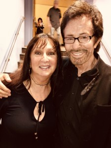 Karen Salkin and George Chakiris. Photo by Mr. X.