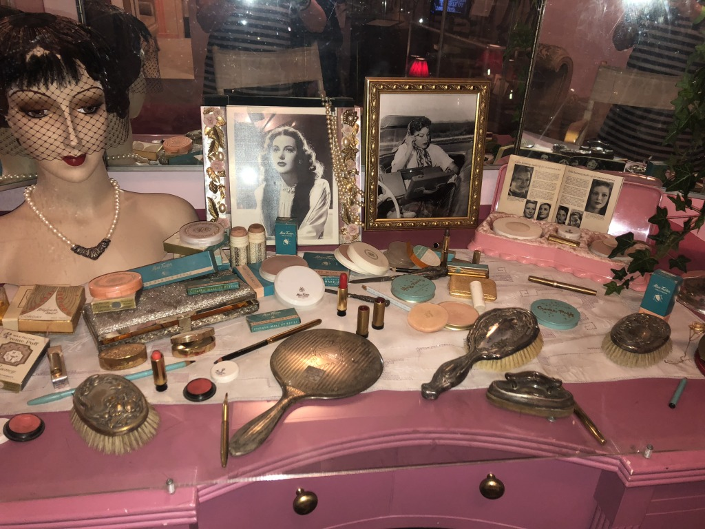 One of the Max Factor displays in the museum.  How mouth-watering!!!  Photo by Karen Salkin.