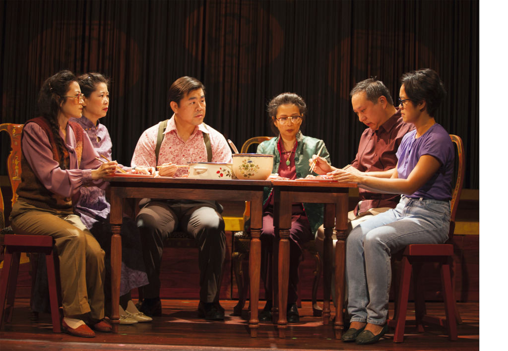 (L-R) Christine Liao, Lee Chen, Victor Chi, Sharline Liu, Christopher Chen, and Nancy Ma. Photo by Gina Long.