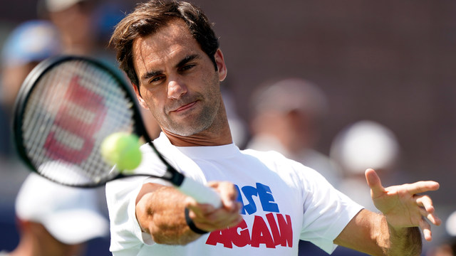 My beloved Roger Federer, of course!
