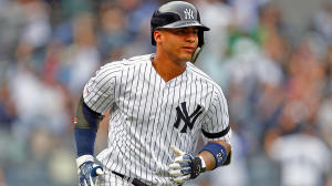 Gleyber Torres of the New York Yankees.