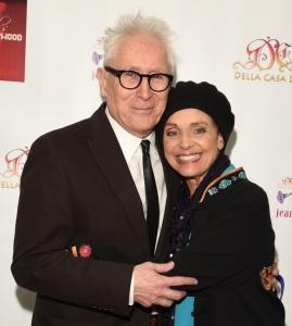 Valerie Harper with her Rhoda co-star, Ray Buktenica.  Photo by William Kidston.