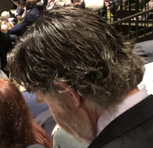 Look at the filthy hair on this man.  Photo by Karen Salkin.