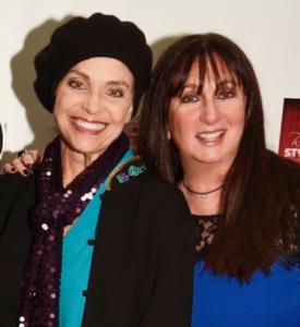 Valerie Harper and Karen Salkin.  Photo by William Kidston.