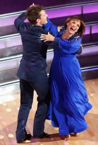 You can just see the joy on Valerie Harper's face when she appeared on Dancing With The Stars!