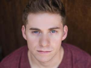 Jake Levy.  (He joined the cast so recently that there are no pix of him in character, and I didn't want him to be left-out of my review.)