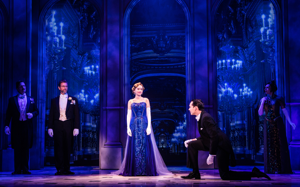 Look at that gorgeous blue gown on Lila Coogan! Photo by Evan Zimmerman.