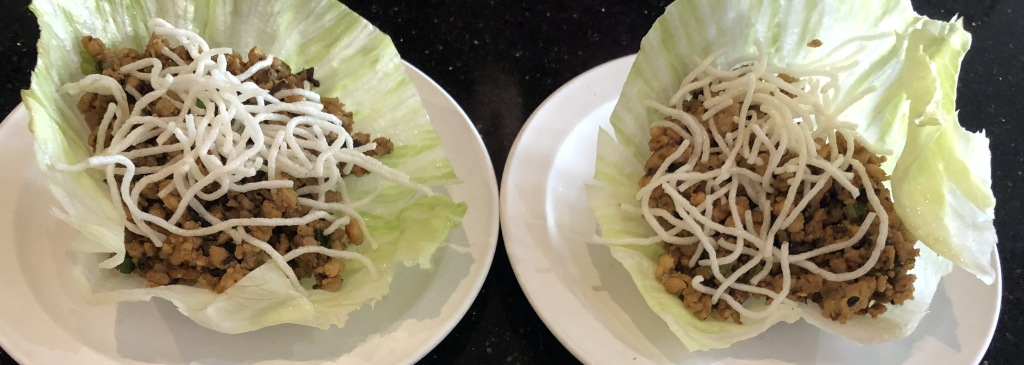 Shanghai-Style Lettuce Cups. Photo by Karen Salkin.
