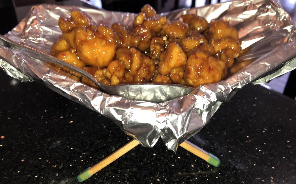 General's Tsao's Chicken. Photo by Karen Salkin.