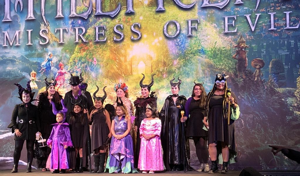 The costumed guests. Photo by Karen Salkin.