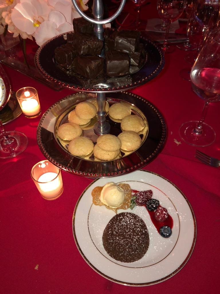 The desserts. Photo by Karen Salkin.