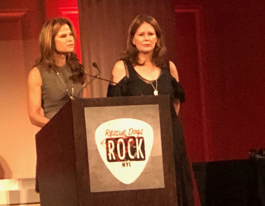 Stacey Silverstein and Jackie O'Sullivan. Photo by Karen Salkin.