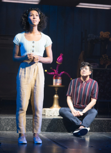 Mj Rodriguez and George Salazar. Photo by Jenny Graham, as is the one at the top of this page.