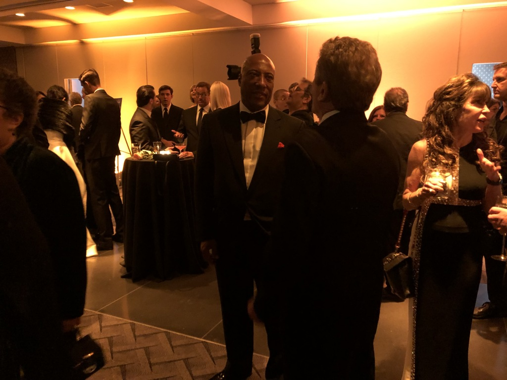 More of the guests, with inductee Byron Allen in the center. Photo by Karen Salkin.