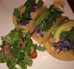 Shrimp Tacos.  Photo by Karen Salkin.