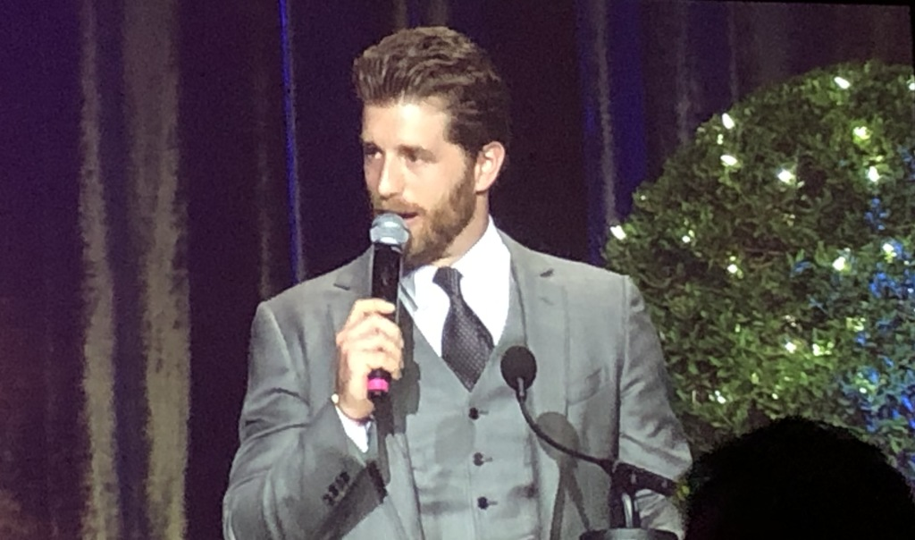 Host Jonah Platt.  Photo by Karen Salkin.