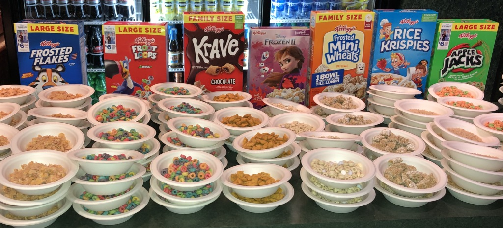 The Cereal Bar.  Photo by Karen Salkin.