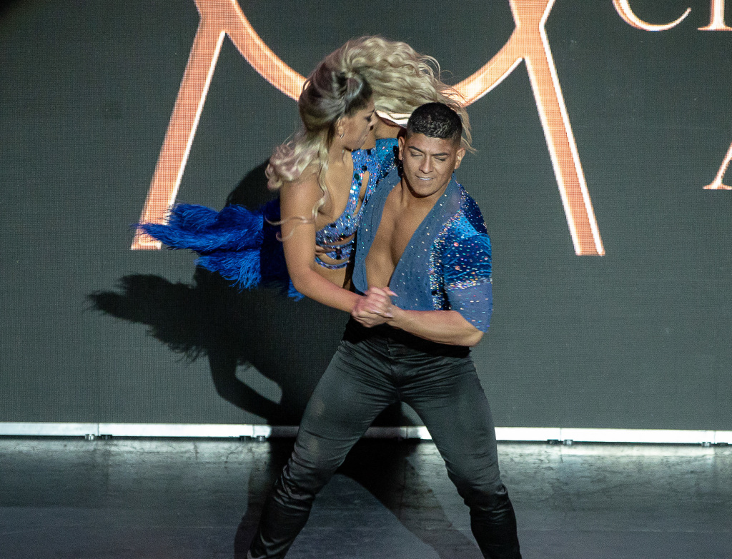 Karen Forcano and Ricardo Vega. Photo by Steve Sasaki, as is the one of Michael Dameski at the top of this page.
