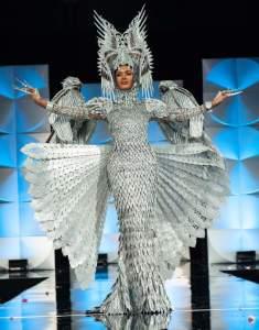 The real National Costume winnner...
