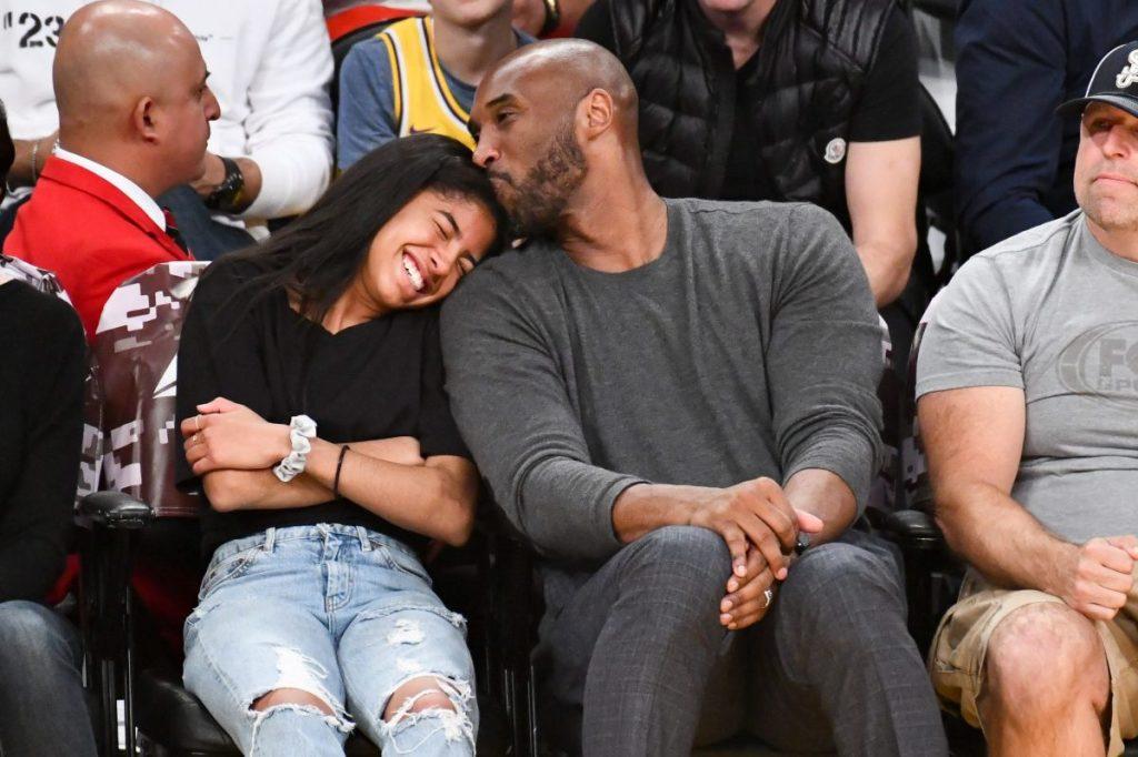 Gianna and Kobe Bryant.