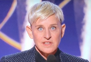 I'm still so shocked over Ellen Degeneres' ears that this picture deserved a place at the top! Photo by Karen Salkin.