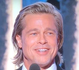 Brad Pitt.  Just because. Photo by Karen Salkin.