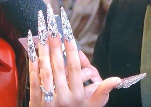 Rosalia's nails. Photo by Karen Salkin.