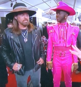 Billy Ray Cyrus and Lil Nas X. Photo by Karen Salkin.