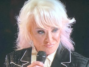 Tanya Tucker.  This picture says it all. Photo by Karen Salkin.