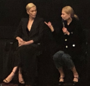 Charlize Theron and Nicole Kidman. Photo by INAM staff.