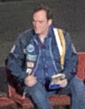 Quentin Tarantino.  Photo by INAM staff.