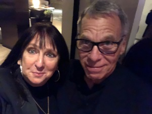 Karen Salkin and Big Hollywood Producer, David Permut. Photo by Karen Salkin.