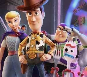 Toy Story 4--my favorite film of the year!