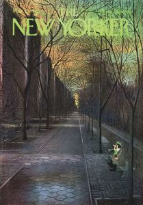 How prescient was this cover of The New Yorker in 1965?!  This must be what Central Park looks like TODAY!