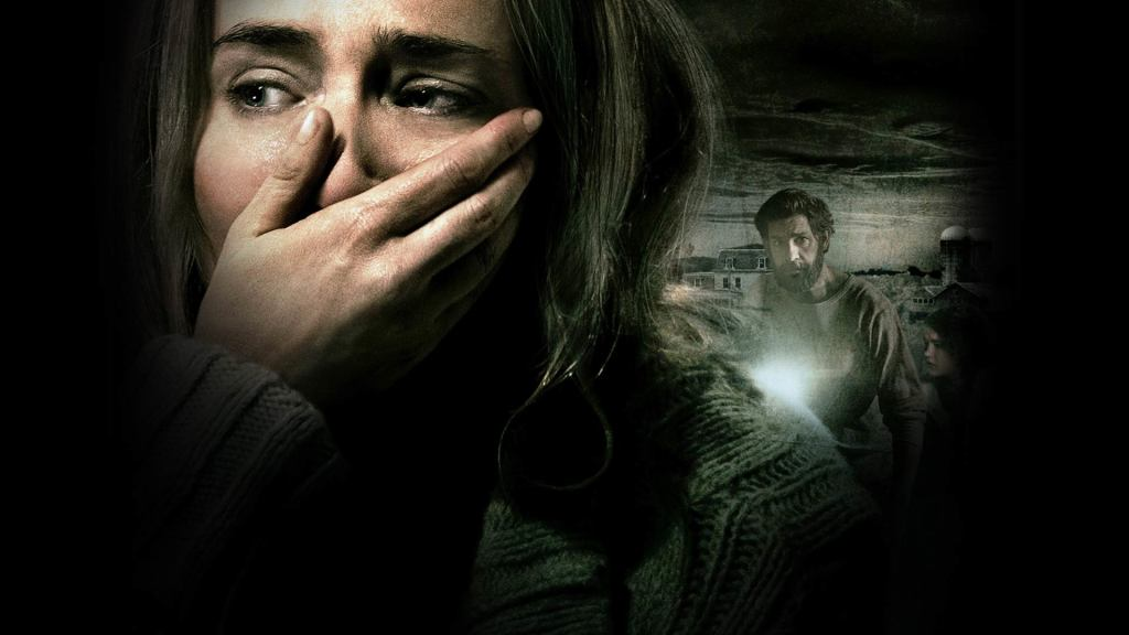 Emily Blunt in A Quiet Place.  Or ME, realizing that I have to leave the house for provisions at some point!  With Mr. X right behind.