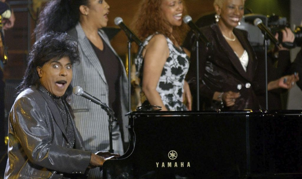 Little Richard further along in his legend.