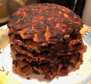 Karen Salkin's Healthful Pancakes. Photo by Karen Salkin.