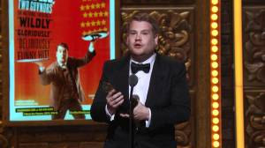 The 2012 Tonys introduced most Americans  to Tony Award winner James Corden, who's also featured in the image at the top of this page, hosting the awards telecast just a few years later.