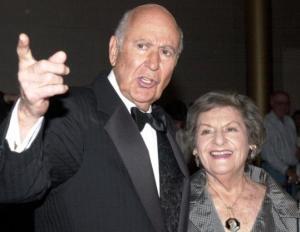Carl and Estelle Reiner.