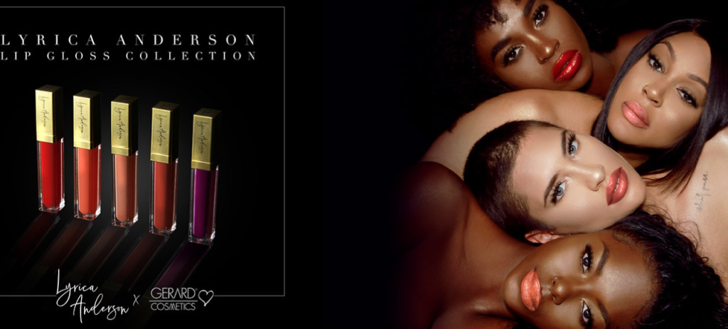 The Lyrica Anderson collection from Gerard Cosmetics.