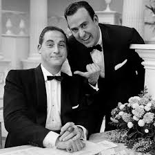 (L-R) Sid Caeser and Carl Reiner.