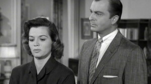 Angie Dickinson on Perry Mason back in the day.
