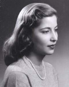 Ruth Bader Ginsburg in her younger days.