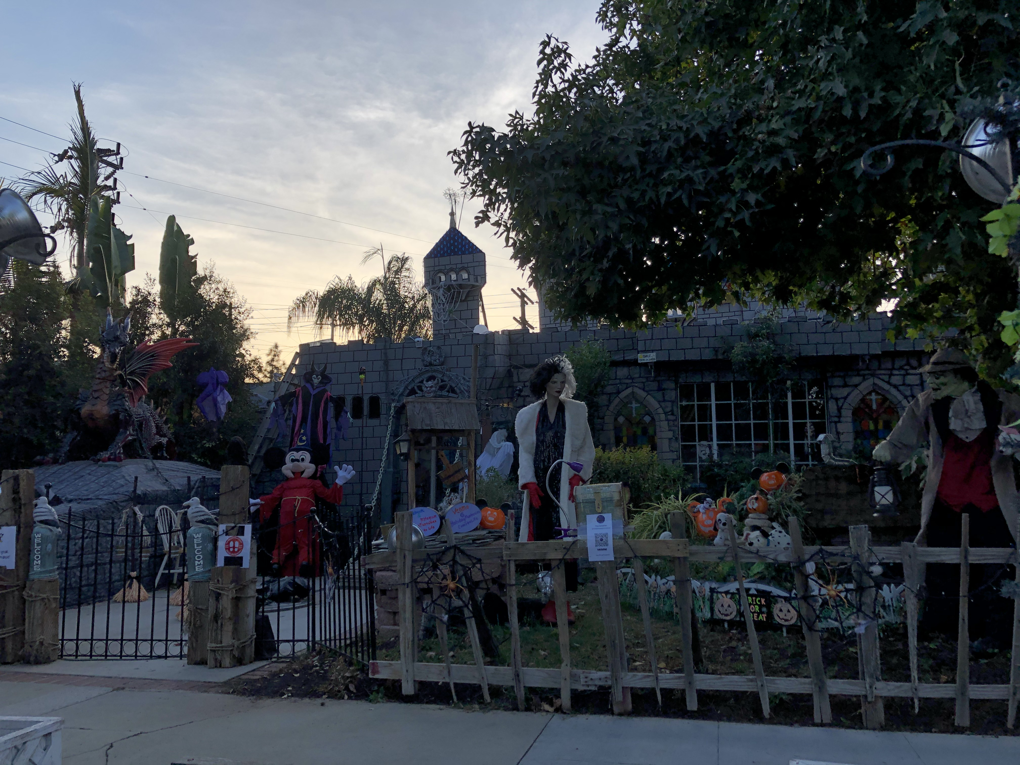 Just part of the fabulous Holiday Fantasies Come To Life display in Burbank.  We visited at dusk, but I hear it's even more spectacular at night! Photo by Karen Salkin.