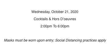 Here's the pertinent part of  that current tiny-place cocktail party invitation.