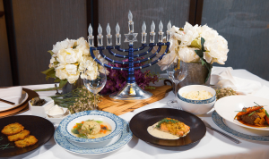 What a proper Hanukkah feast should look like.