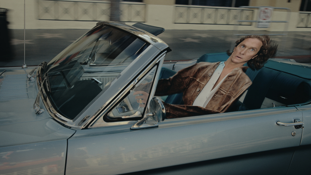 Part of the Matthew McConaughey ad.
