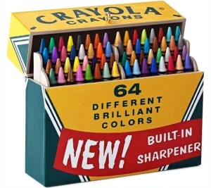 There's still nothing better than this new box of crayons!