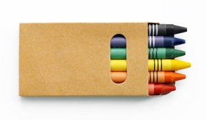 My mouth waters just seeing a picture of crayons!